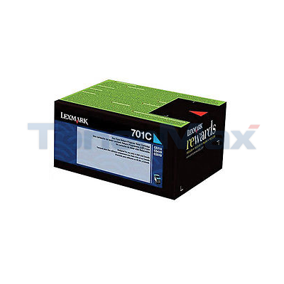 LEXMARK CS410 RP TONER CARTRIDGE CYAN 1K